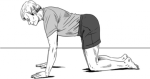 Scap Pumps exercise for tennis elbow