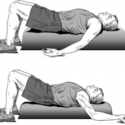 Foam Roll Angel for Tension Headache Relief